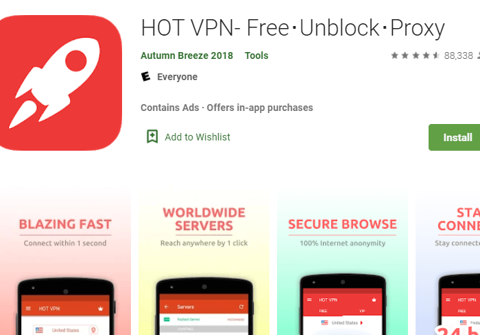 Hot VPN for PC