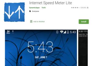 Internet Speed Meter Lite for PC