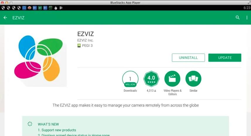 EZVIZ App for PC