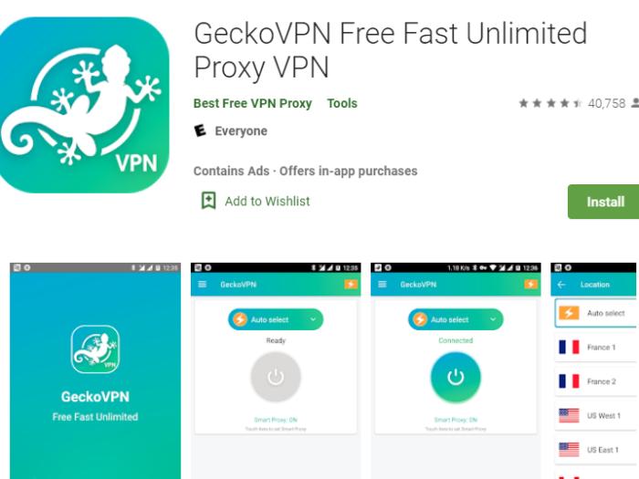 Gecko VPN for PC
