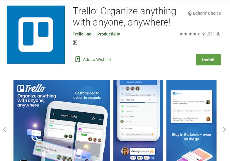 Trello App for PC