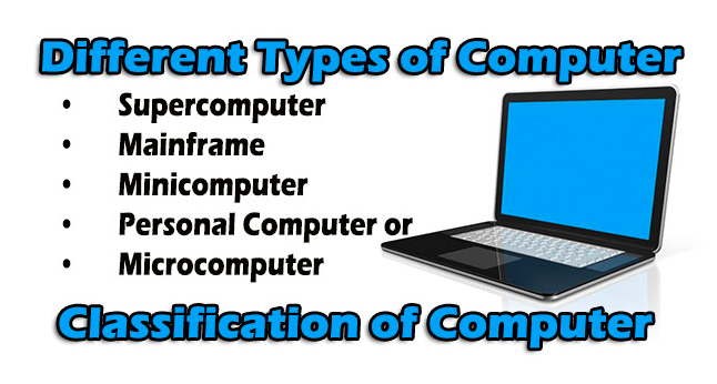 Classification of Computers - 3 Different Types Computers