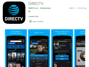DirecTV App for Windows