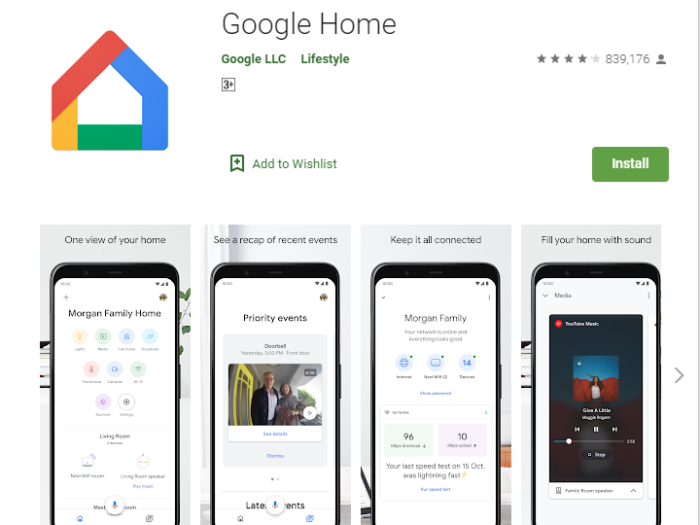 Google Home for Windows