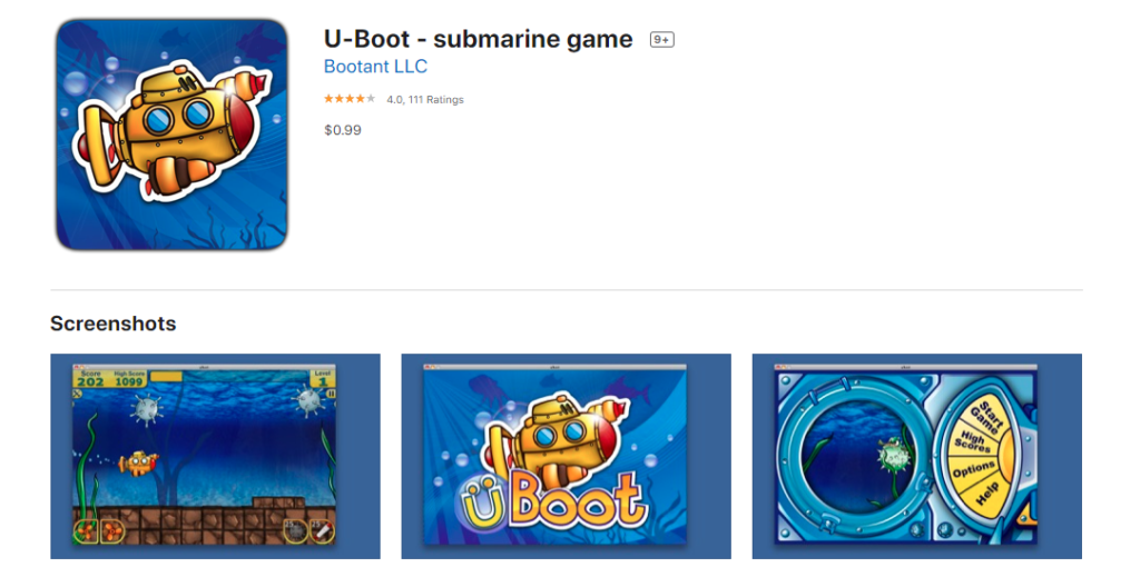 Submarine Games for Mac