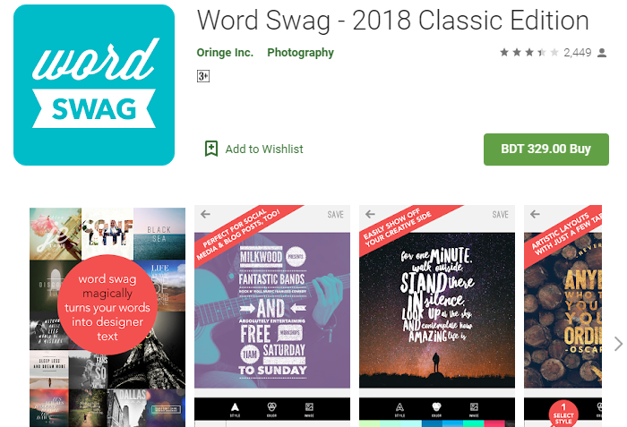 Word Swag for PC