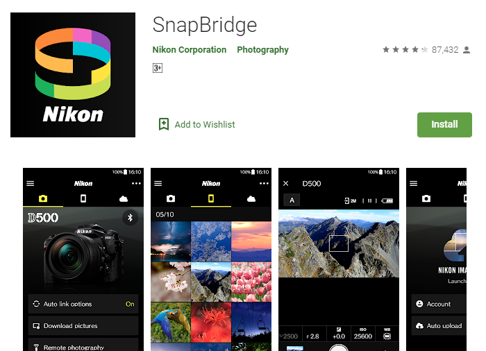 SnapBridge For PC