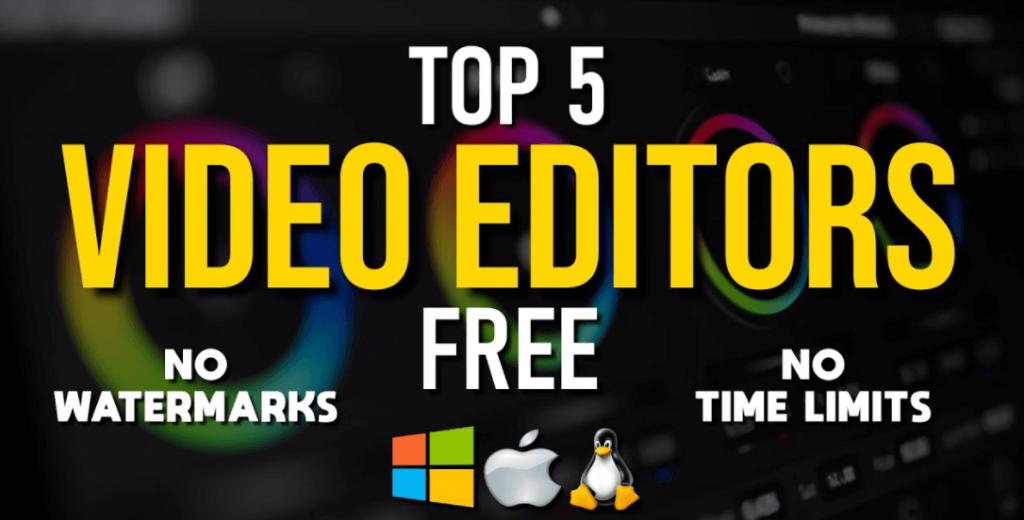 Best Free Video Editing Software No Watermark