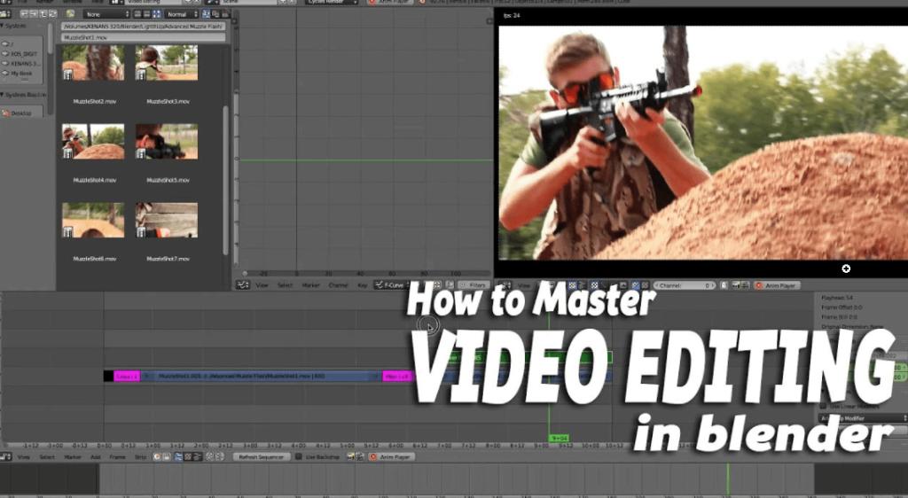 Blender Video Editing Software Download