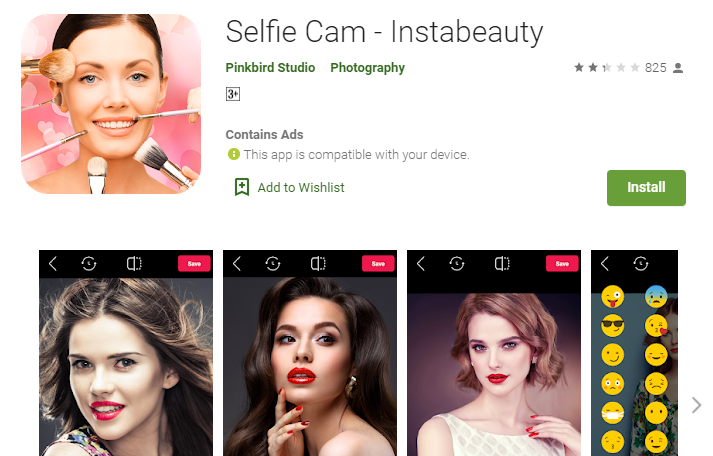 InstaBeauty Online Editor for PC