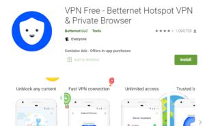 BetterNet VPN for PC