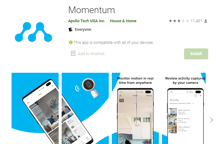 Momentum App for PC