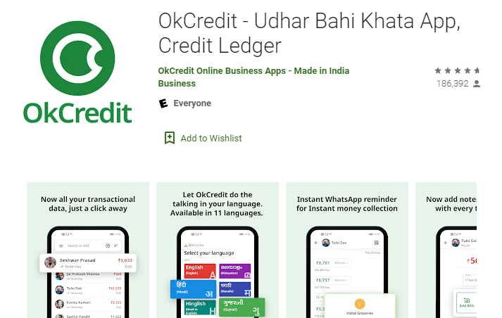 OkCredit App on PC