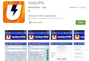 UnityVPN for PC