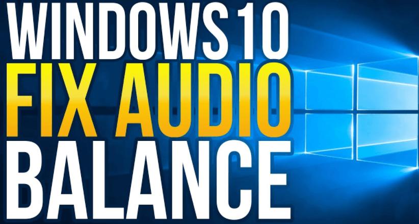 How to Balance Sound in Headphones Windows 10
