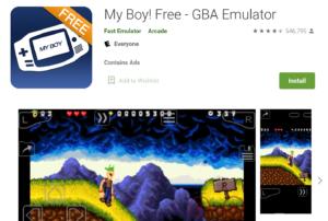 My Boy Emulator for PC