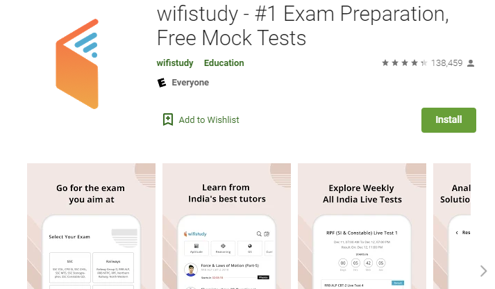 Wifistudy App For PC