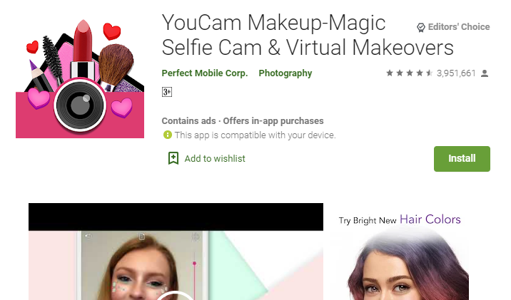 Youcam Makeup for Pc