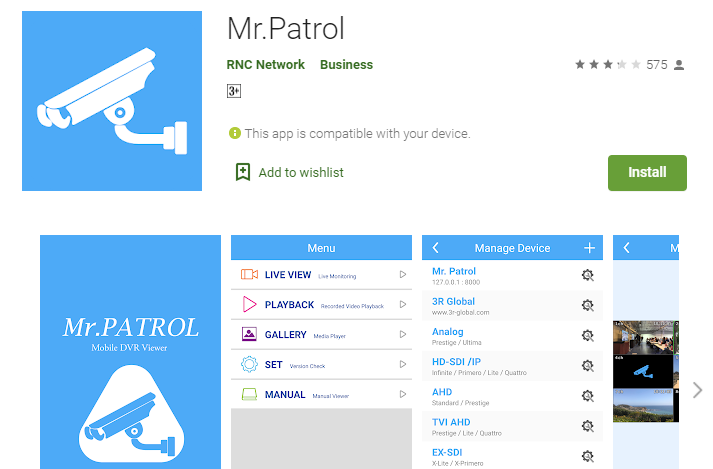 Mr Patrol App For PC