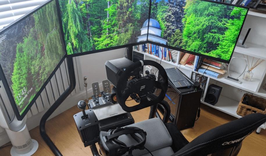 Best Triple Monitors for Sim Racing