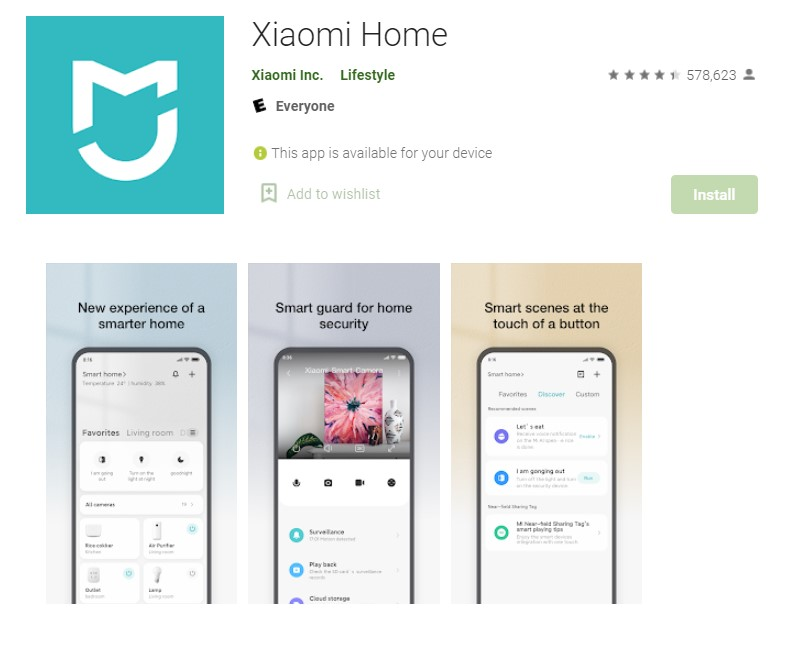 Download Mi Home For PC
